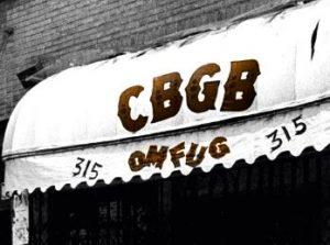 T-Shirt Man Woman CBGB Country Blue Grass Blues and OMFUG rock club /'70
